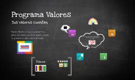 Programa Valores 2013-2014
