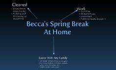 Becca's Spring Break