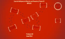Copy of WPPSI-III