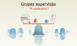 Grupinė supervizija