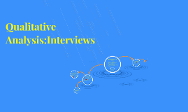 Qualitative Analysis:Interviews