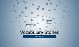 Vocabulary Stories