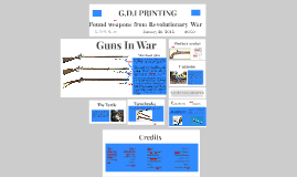 The weapons in the revalotionary war