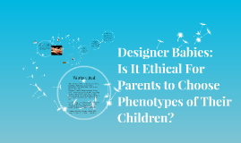 Designer Babies: