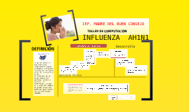 Copy of Copy of Historia Natural de la Enfermedad Influenza AH1N1