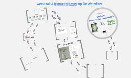 weektaak & instructierooster op De Waterkant
