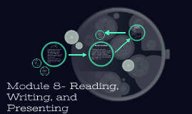 Module 8- Reading, Writing, and Presenting