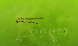 Act Eco - l'énergie nouvelle - Short