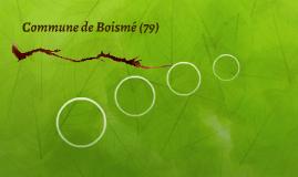 Commune de Boismé (79)