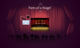 Copy of Parts of a Stage!