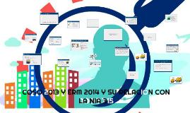 COSO 2013 Y ERM 2014 Y SU RELACION CON LA NIA 315