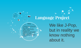 Language Project