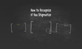 How to Recognize