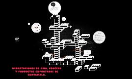 IMPORTACIONES DE ASIA, PROCESO Y PRODUCTOS EXPORTADOS DE GUA