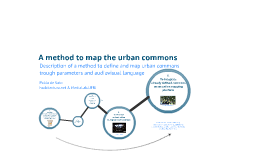 Copy of A method to map the urban commons