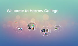 Welcome to Harrow College