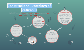 Constitutional Doctrines of Vatican II