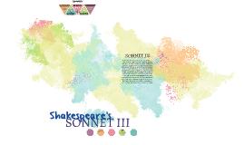 SONNET III