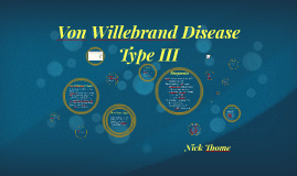 Von Willenbrand Disease