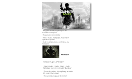 Copy of Comparative mw3 and Black Ops