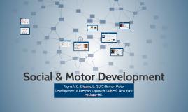 Social & Motor Development