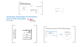 Annotation for The Semantic Web