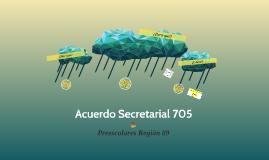 Acuerdo Secretarial 705