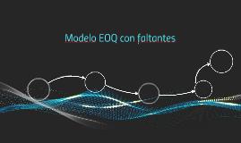 Modelo EOQ con faltantes