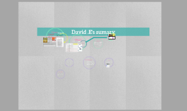 David .E's sumary