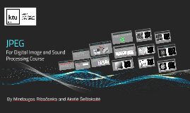 Digital Image and Sound Processing
