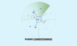 PLAGAS CUARENTENARIAS
