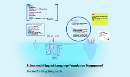 English Language Foundation Programme