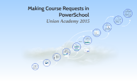 Making Course Requests in PowerSchool
