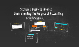 Section B Business Finance
