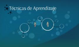 Copy of Técnicas de Aprendizaje