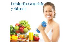 ND Introducción a la nutrición y el deporte