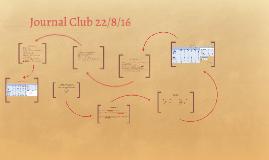 Journal Club 22/8/16