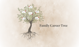 Family Career Tree