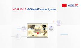 Copy of Copy of MCAI 15-16. BENVINGUDA