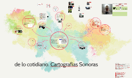 DE LO COTIDIANO. CARTOGRAFIA SONORA