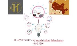 Senior Project AFRICA TOURISM HOSPITALITY - by Nesida Hakim Belembaogo