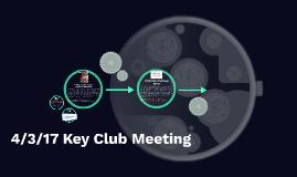4/3/17 Meeting