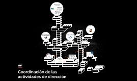 Copy of Copy of coordinacion de las actividades de direccion