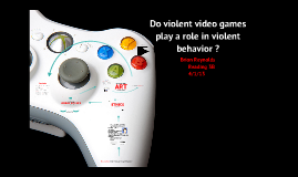 """violent video games cause behavior problems 2 essay You turn on the television, and violence is there you go  some interest in  violence through movies, video games, books, and other media""""2."""