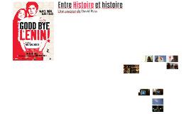 Entre Histoire et histoire