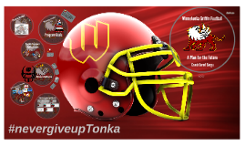 Winnetonka Griffin Football