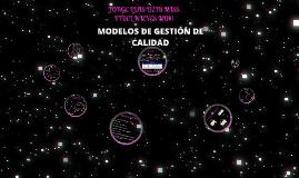 MODELOS DE GESTIÓN DE LA CALIDAD TOTAL