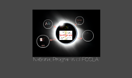 Copy of National Programs of FCCLA: