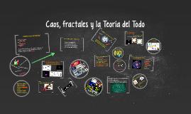 Coas, fractales y la Teoría del Todo