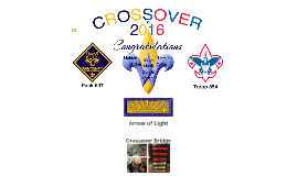 Cub Scout Crossover 2016